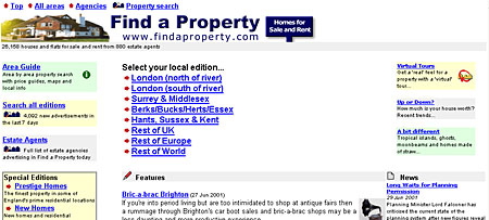 FindaProperty.com in 2001