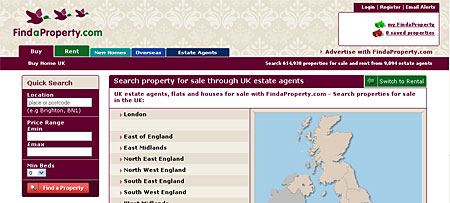 FindaProperty.com in 2008