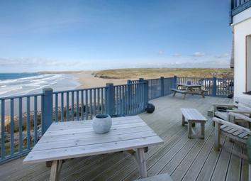 Modern beach front house for sale in Perranporth, Cornwall