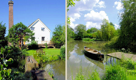 £1,600,000, Converted Water Mill, Strutt & Parker, Lewes (Tel: 0843 2823 360)