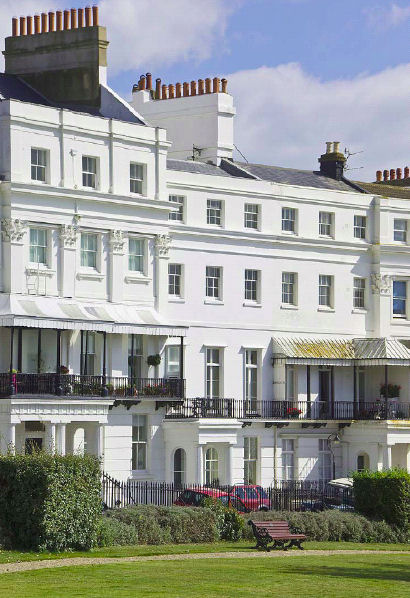 £3.1m, five-bed house, Lewes Crescent, Brighton, Savills (Tel: 0843 2822 019)