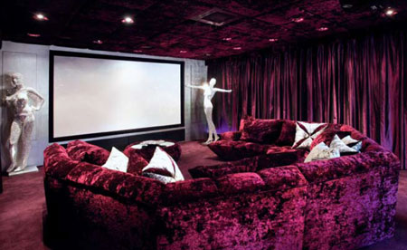 Wes Brown's property for sale - Cinema Room
