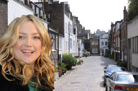 Kate Hudson has spent £4 million on a North London mews home