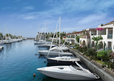 Buy a property with a berth at Limassol Marina in Cyprus