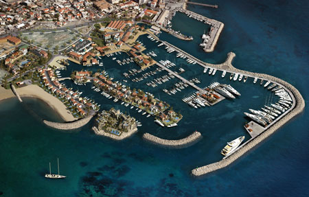 Limassol Marina is a new luxury resort in development in Cyprus