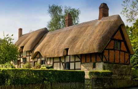 Anne Hathaway's cottage - Shakespeare's wife's home