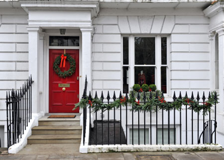 Costs of christmas lighting casts a shadow over festive for Bah humbug door decoration