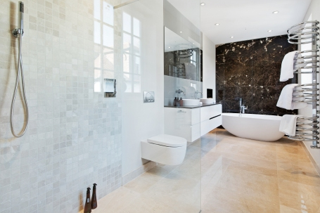 Bolton Road, Chiswick, W4 master bathroom for sale through John D Wood & Co. jpg