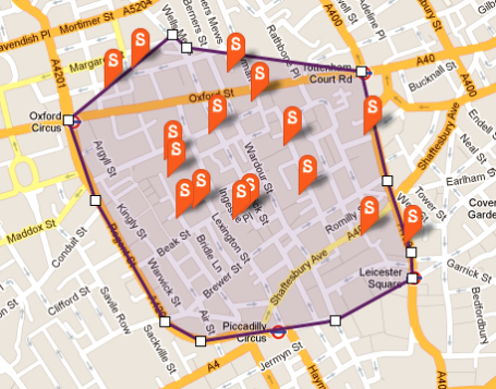 Soho Zoopla SmartMap