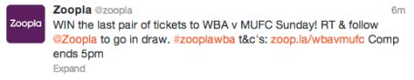 WBA Comp Tweet