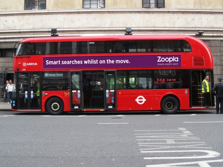 Zoopla Bus press release
