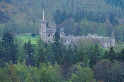 BALMORAL CASTLE, ABERDEENSHIRE.
